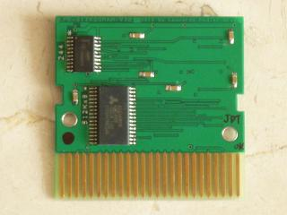 Expansion de memoria RAM (Estandar Mapper) de 512Kx8, LPE-512KBSRAM-V3(6x6,5 cm)/RAM Memory Expansion 40 €. Can use plastic Cases: Sony, Konami & Pazos-sunrise
